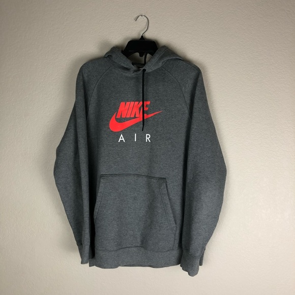 Nike Air Hoodie Men's Large Grey